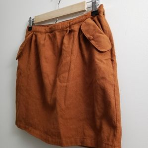 Valentine Gauthier- Mini wool skirt